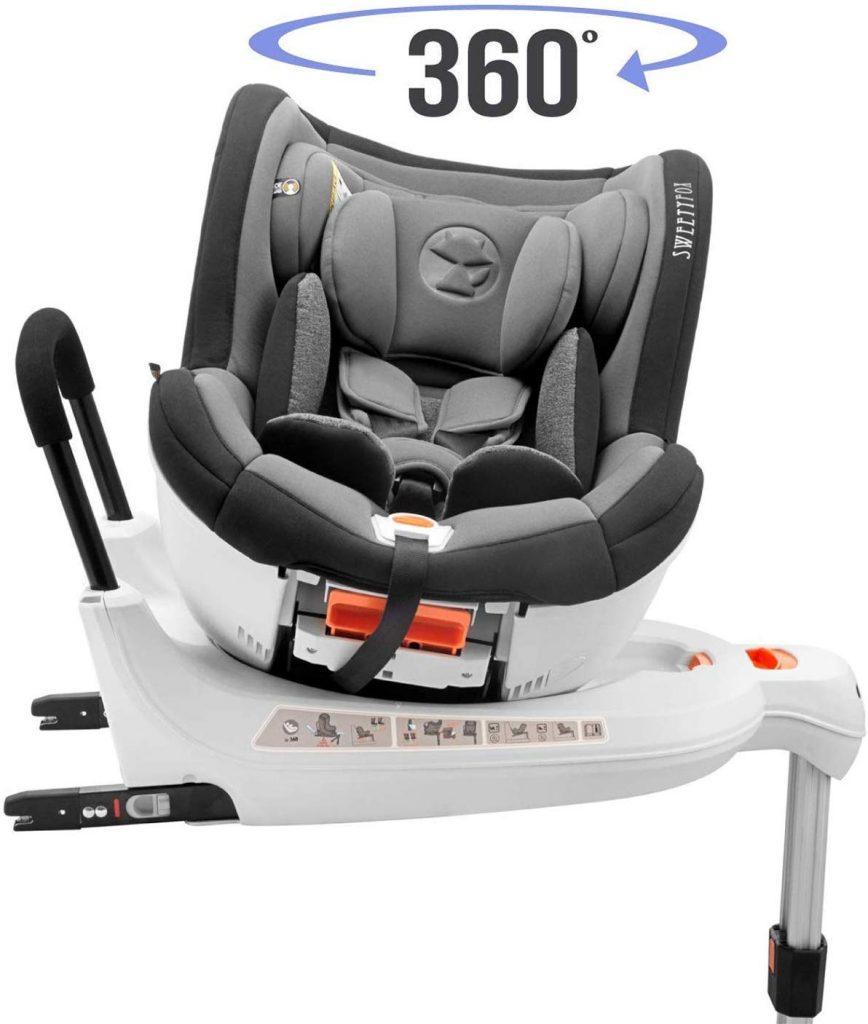 silla de coche Sweety fox 360º