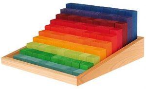 escalera arco iris waldorf