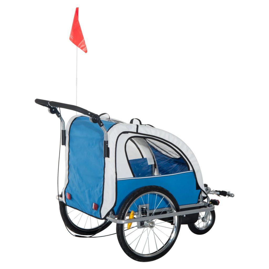 Remolque infantil para bici Homcom