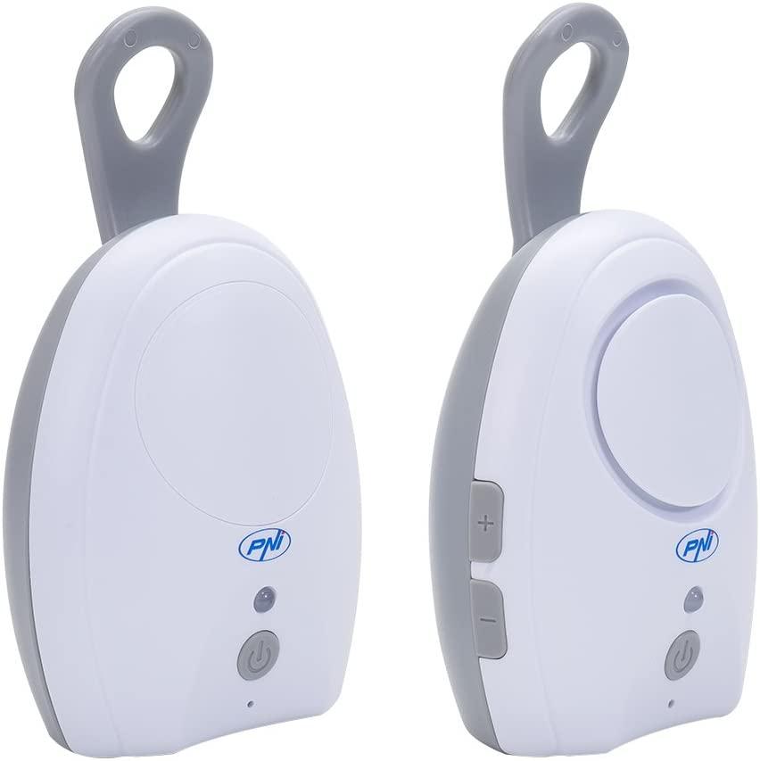 Vigilabebés de audio tipo walkie-tañkie