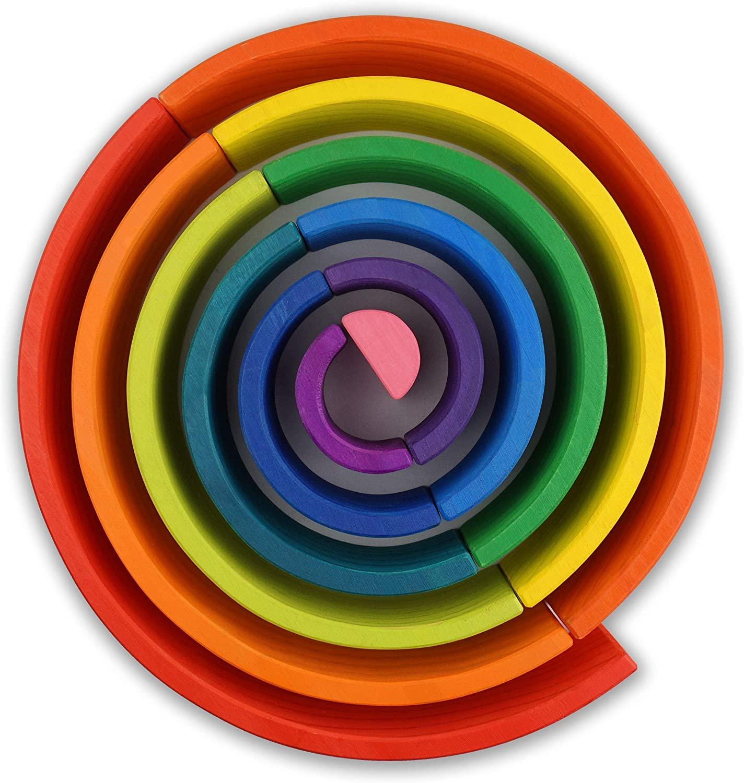 arcoiris waldorf 12 piezas