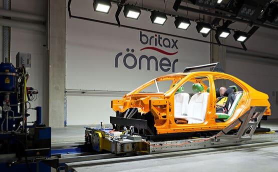 Britax Römer instalaciones prueba de choques