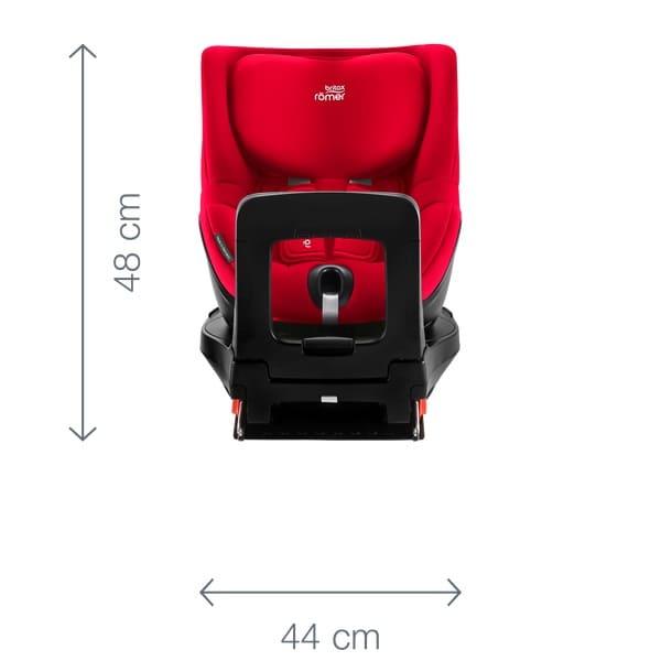 Dimensiones DUALFIX Z-LINE Vista Frontal