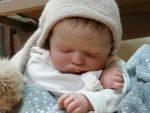 Preciosa bebé reborn de Miriam en Madrid