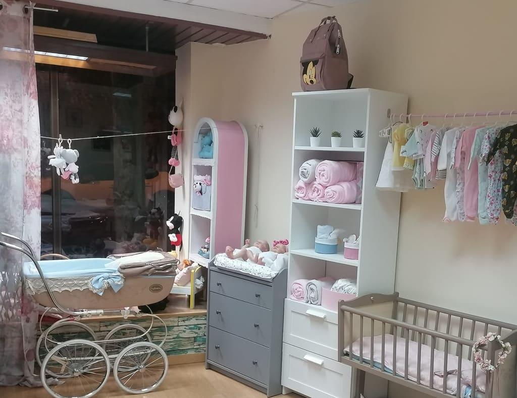 Bebés reborn y complementos en Madrid