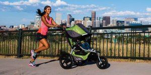 Carrito de bebe para runners