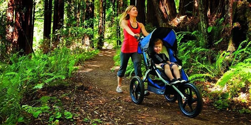 Carrito de bebé para trekking