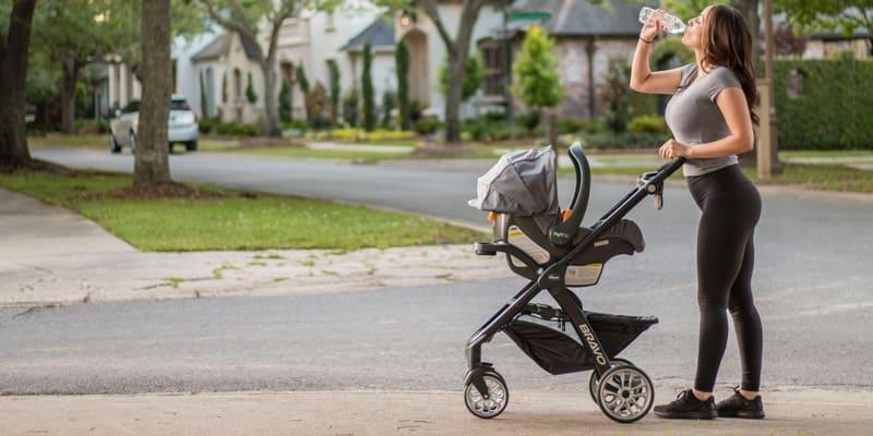 Cochecito para correr con tu bebe